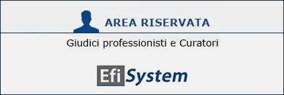 Area Riservata Efisystem